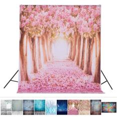 1.5*2.1 M/5 * 6.9ft Latar Belakang Foto Latar Belakang Digital Romantis Bunga Pohon Peta Cetak Pola untuk Anak Anak bayi Baru Lahir Studio Potret Fotografi-Intl