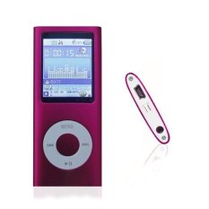 Beli 1 78 Inci Lcd Mp3 Mp4 Player With 16G Kartu Memori And Kekuatan Tinggi Hot Pink Warna Online Murah