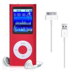 Toko 1 8 Inci 8 Gb Mp3 Mp4 Slim Digital Layar Lcd Radio Fm Musik E Buku Pemutar Video Merah Oem Online