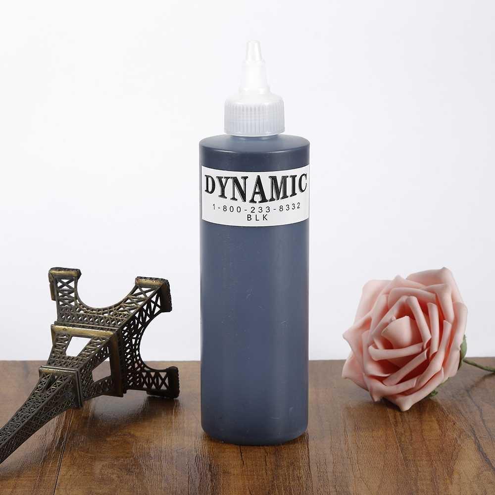 Harga 1 Botol Profesional Tato Tinta Pigmen Hitam Untuk Lining Dan Shading 249 Ml Intl
