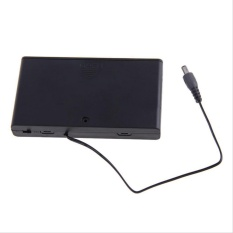 Beli 1 Pc 8 Aa 2A Sel Baterai 12 V Clip Holder Box Case Dengan Switch Hitam Hitam Intl Online Murah