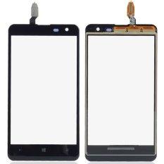 1 Piece Hitam Kaca Luar Panel Layar Sentuh Digitizer Penggantian Bagian untuk Nokia Lumia 625 4.7 Inch B0335 P0.25- INTL