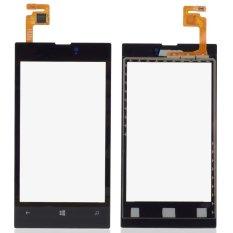 1 Piece Kaca Digitizer Layar Sentuh Hitam untuk Nokia Lumia 520-Intl