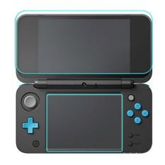 1 Set 9 H Hardness Film Pelindung Anti Gores Anti - Gores High Definition 1 Top + 1 Bawah Untuk Nintendo Baru 2 Ds Xl Ll