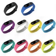 Beli 10 Warna Silicone Wrist Strap Untuk Xiao Mi Band 2 Tracker Penggantian Watchband Intl Murah Hong Kong Sar Tiongkok