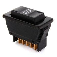 10 Pcs 5 Pins Universal Mobil Otomatis Daya Jendela Pengendali On/Mati SPST Rocker Sakelar 12 V DC- internasional