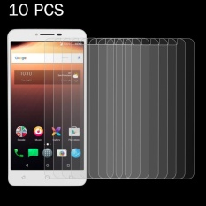 10 Pcs untuk Alcatel A3 XL 0.26mm 9 H Kekerasan Permukaan Tahan Ledakan Non-full Screen Tempered Glass Screen Film-Intl