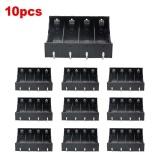 10 Pcs Plastik Kotak Penyimpanan Kasus Penyimpanan Klip 4 Pin Untuk 4X18650 Baterai Intl Di Tiongkok