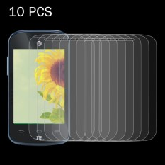 10 PCS ZTE Zinger Z667 0.26mm 9H Surface Hardness 2.5D Explosion-proof Tempered Glass Screen Film - intl