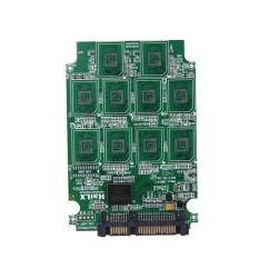 10 X Mikro SD TF Kartu Memori untuk SATA Adaptor SSD + RAID Quad 2.5 Konverter SATA-Intl
