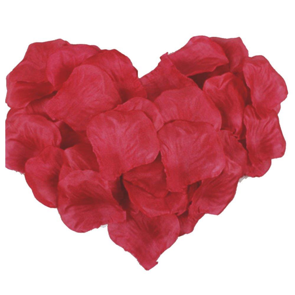 100 Buah Sutra Mawar Kelopak Bunga Dekorasi Pesta Pernikahan Palsu Buatan