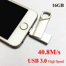 Toko 100 Genuine 16Gb Otg 3 0Usb Flash Drive For Iphone 5S 5C 6 6 Plus Ipad Iphone 7 Intl Online Tiongkok