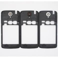 100% Original Black Bingkai Tengah Housing Case untuk Lenovo S820 dengan Antena + Lensa Kamera-Intl