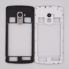 100% Original Black Tengah Pemegang Bingkai Tengah untuk Lenovo K4 CATATAN A7010 X3 K51C78 Housing Case dengan Antena + Kamera Lensa-Intl