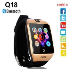 100% Original Q18 Smart Watch Waterproof Smartwatch Sport WatchWristwatch Support NFC SIM Card Camera For Android Phone PK GT08GV18 DZ09 A1 Smart watch - intl