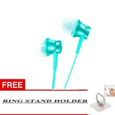 100 Xiaomi In Earphone Piston Mi Original 3Rd Gen In Ear Handsfree Headset Free Bonus Ring Stand Warna Random Ungu Banten Diskon