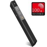 Harga 【100M Efektif Range】Q Shop Wireless Laser Pointer Radio Frekuensi 2 4 Ghz Presentasi Powerpoint Presentasi Remote Hitam Intl Tiongkok
