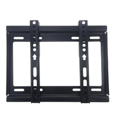 10.43X8.66 Inches TV Bracket Max Load-bearing 55.12lb Rumah Kantor Tempat Hiburan Rak TV Wall Mount untuk 14-42 Inches LCD LED Plasma TV Flat Panel Display Layar TV Hitam-Intl