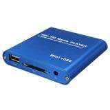 Spek 1080 P Media Player Mini Hdd Mkv H 264 Rmvb Hd Penuh Dengan Tuan Rumah Usb Sd Pembaca Kartu Biru Oem