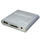 Beli 1080P Media Player Mini Hdd Mkv H 264 Rmvb Hd Penuh Dengan Tuan Rumah Usb Sd Pembaca Kartu Silver Oem Online