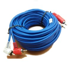 Jual 10M Kabel Audio Rca 2 K 2 Male 10 Meter Cable Rca2 K2 Kitani