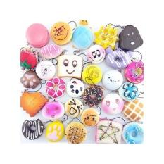 Spesifikasi 10 Pcs Cute Jumbo Medium Mini Acak Licin Soft Phone Straps Decor Hadiah Intl Oem