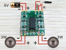 Harga 10 Buah Digital Dc 5 V Penguat Kelas D Papan 2X3 Watt Tenaga Usb Mini Pam8403 Modul Audio Sg239 Sz Online Hong Kong Sar Tiongkok