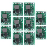 Review Terbaik 10 Pcs Mini 3A Dc Dc Converter Step Down Power Supply Modul 24 V 12 V 9 V Untuk 5 V Intl