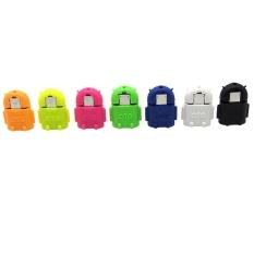 10 Pcs Mouse Di Atas Gambar untuk Memperbesar Micro-USB-To-USB-2-0-Host-OTG-Adapter-Converter-Intl