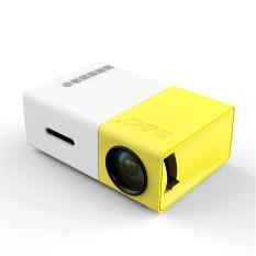 Harga 10 Pcs Yg300 Lcd Mini Portabel 1080 P Led Proyektor Bioskop Rumah Sd Usb Hdmi Steker As Internasional New