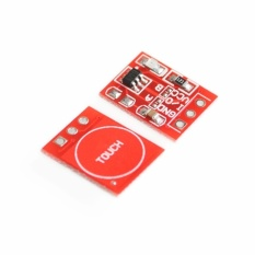 10PCS/LOT NEW TTP223 Touch button Module Capacitor type SingleChannel Self Locking Touch switch sensor