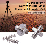 Harga 10X1 4 Sampai 1 4 Adaptor Sekrup Berumbai Untuk Kamera Tripod Ballhead Merk Xcsource
