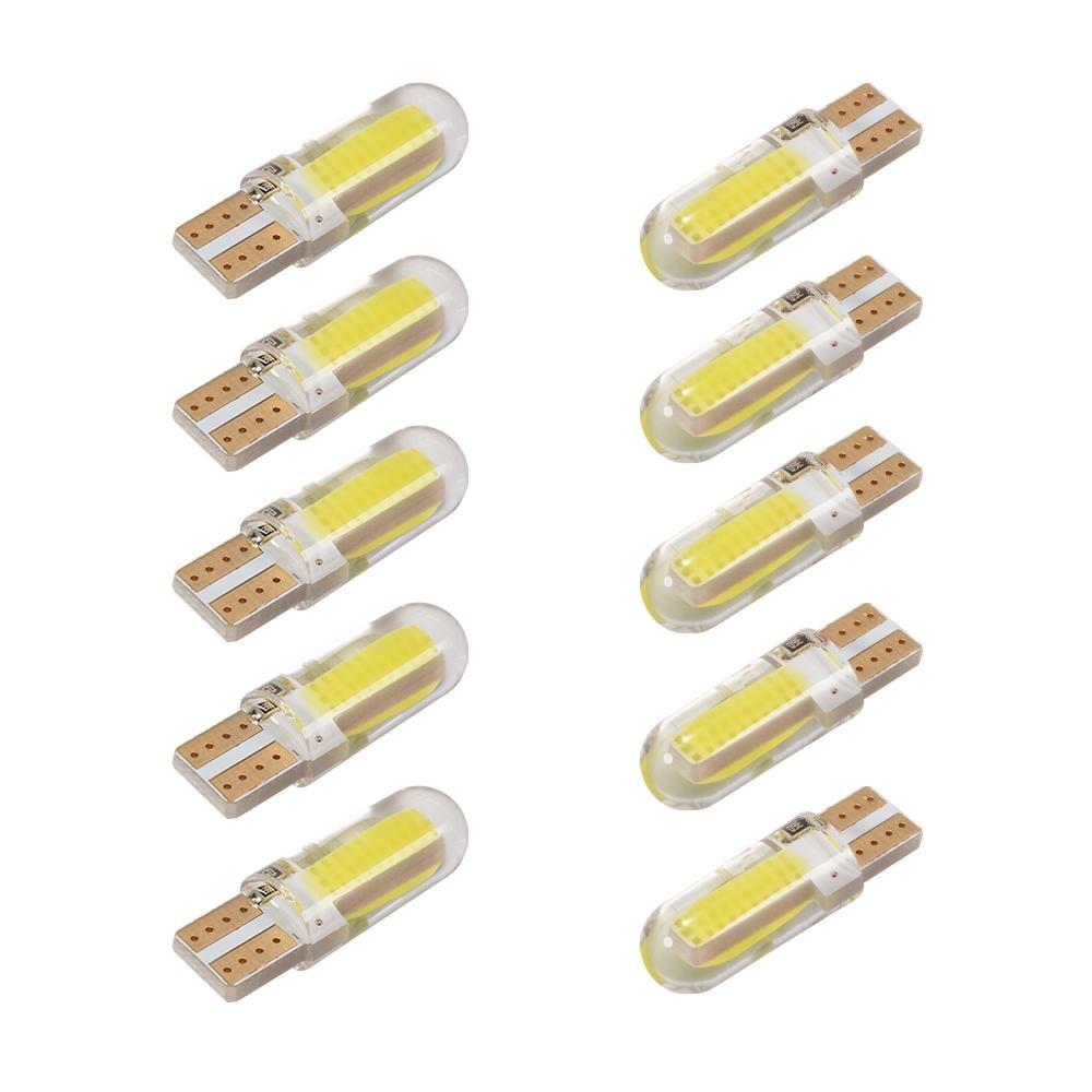 10X T10 194 W5W Cob 20Smd Silicone Bola Lampu Led Super Terang Putih 12 V Intl Di Hong Kong Sar Tiongkok
