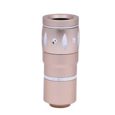 Jual 10 X Perkecil Tampilan Aluminium Universal Manual Fokus Lensa Ponsel Pintar Warna Emas International Online Di Hong Kong Sar Tiongkok