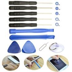11 In1 Repair Opening Pry Tools Set Obeng untuk Telepon Seluler IPhone Portable-Intl