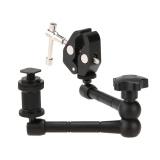 Spesifikasi 11 Inch Mengartikulasikan Magic Lengan Super Clamp Kepiting Plier Klip Untuk Kamera Ds Intl Yg Baik