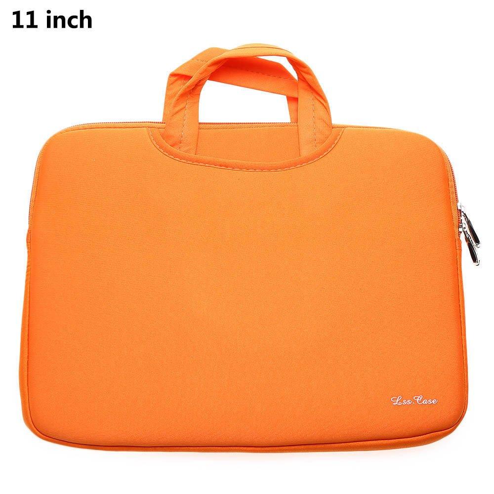 11 Inch Laptop/Tas Tablet untuk MacBook Air (Orange)