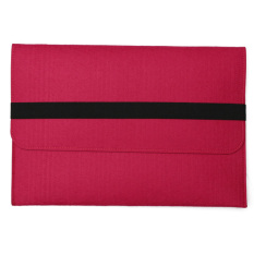 27.94 cm merasa laptop lengan baju untuk menutupi kasus melindungi tas Apple Macbook Pro & Air & Retina naik merah- intl