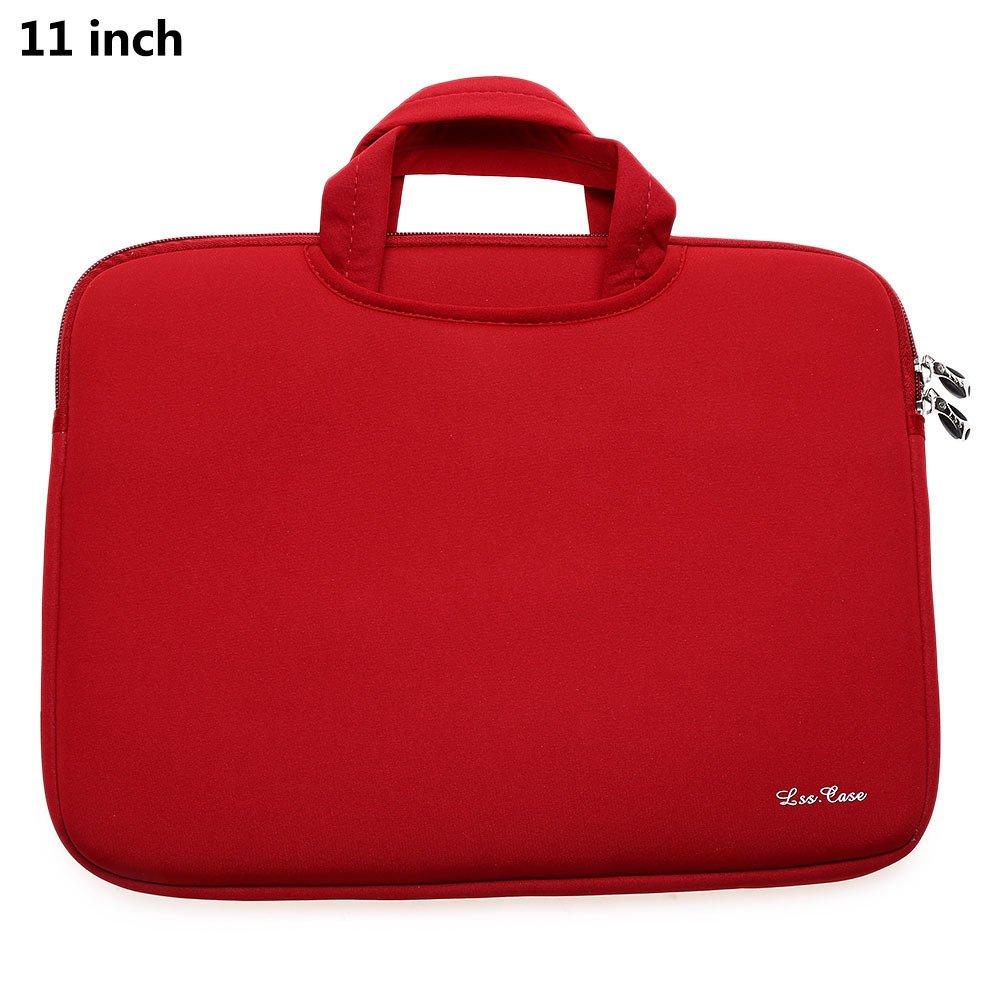 Spesifikasi 11Inch Laptop Tablet Bag For Macbook Air Red Lengkap