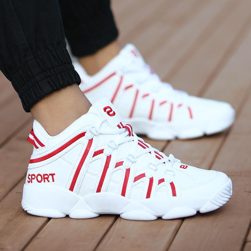 Jual 12 Baru Musim Gugur Korea Fashion Style Olahraga Sepatu Basket Sepatu Murah Tiongkok