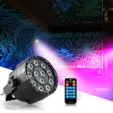 Toko 12 Led Par Stage Light 20 W Led Rgbw Dmx 512 Dream Color Light Untuk Club Dj Show Home Pesta Ballroom Band Rgbw Uv Intl Murah Hong Kong Sar Tiongkok