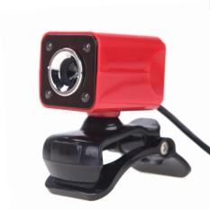 12 Juta Piksel HD Kamera Web Kamera dengan Mikrofon Klip-On Malam Vision 360 Derajat-Internasional