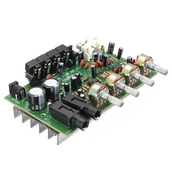 Toko 12 V 60 W Hi Fi Stereo Digital Audio Penguat Daya Volume Nada Papan Kontrol Kit Oem Di Tiongkok