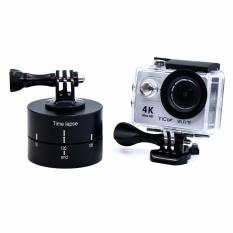 120 Min Time Lapse 360 Degree Rotation Adapter 120 Minutes Holder 2 Hours Countdown For Go Pro Hero5 4 3 Sjcam Xiaoyi Sport Camera Accessories Diskon Tiongkok