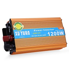 1200W Dc 12V To Ac 220V Car Power Inverter Intl Tiongkok Diskon