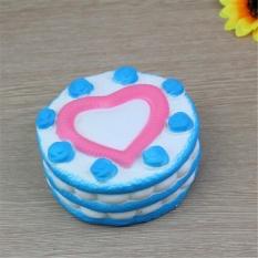 Harga 12Cm Cute Cake Squishy Super Slow Rising Cream Heart Rose Scented Kid Toy Gift Intl Baru Murah