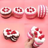 Harga 12 Cm Merah Muda Strawberry Kue Scented Super Satunya Lambat Rising Fun Kid Mainan Licin Panas New