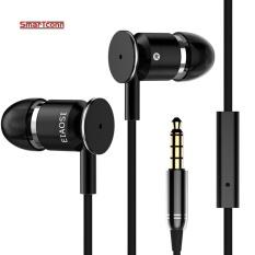 Beli 1 2 M Stereo Bass Earphone In Ear Handsfree Headset Earbud Untuk Semua Ponsel Mp3 Player Intl Murah Tiongkok