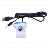 Toko 12Mp 30Fps Hd Webcam Driver Free Camera For Notebook Desktop Pc With Mic White Intl Lengkap