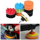 Review Tentang 12 Pcs 3 Inch Sponge Buffing Polishing Pad Kit Untuk Penggosok Mobil Mobil Dengan Bor Adaptor